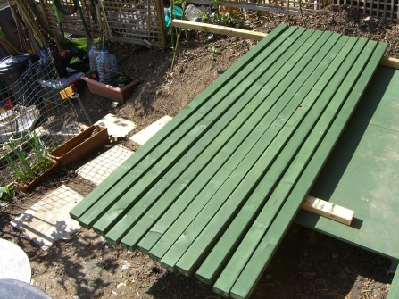 Allotment-footings-studs